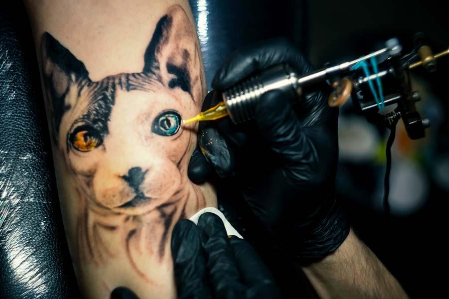 Художественная татуировка не имеет ничего общего с тюремной культурой